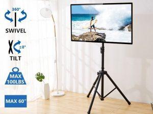 LED TV ekrānu ar statīviem noma
